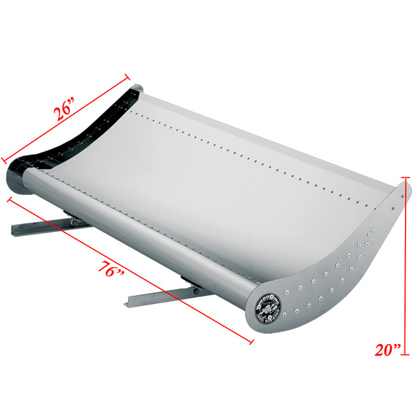 Turbo Wing Kit for Freightliner FL50 FL60 FL70 FL80 FL106 FL112 M2 - Dimensions