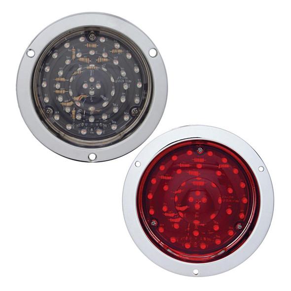 "40 LED 4"" Round STT And PTC Light - Deep Dish"