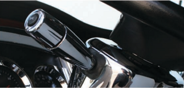 Kenworth Peterbilt 2006+ Chrome Turn Signal Lever Cover