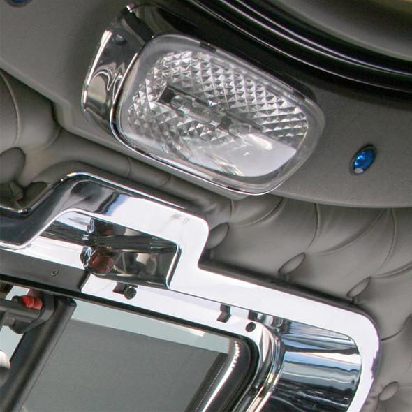 Kenworth 2006+ Chrome Dome Light Trim On Truck