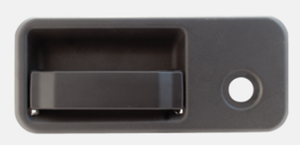 Volvo VNL Exterior Door Handle Blacked Out