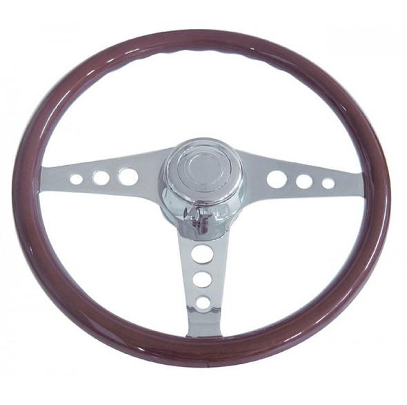 """18"""" Chrome GT Steering Wheel"""