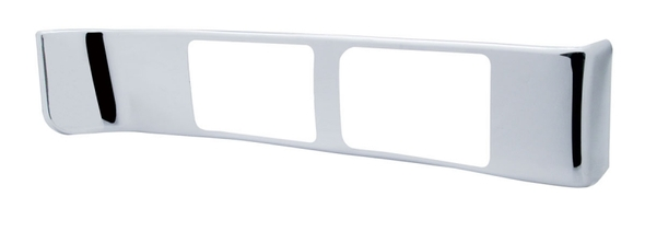Peterbilt Chrome Passenger AC Vent Outer Trim