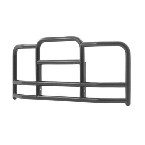 Freightliner Cascadia ProTec Grill Guard (Black Steel, 25° Angle)