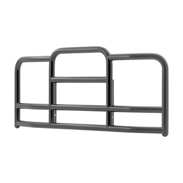 Kenworth W900 ProTec Grill Guard (Black Steel, 15° Angle)
