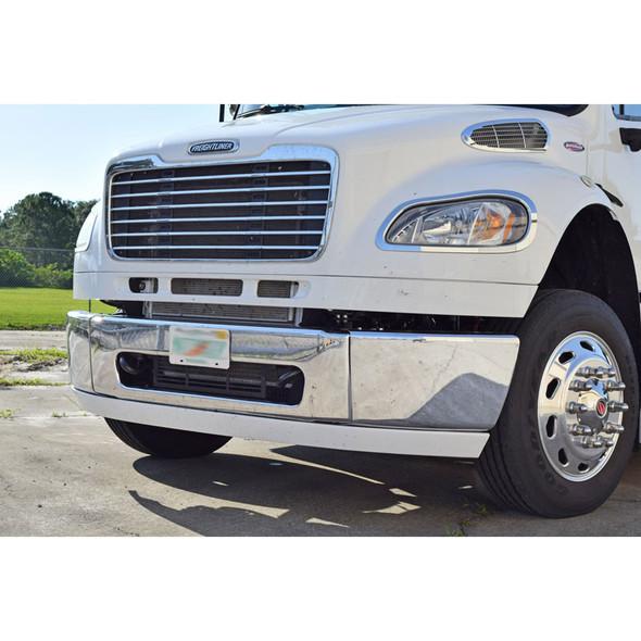 Freightliner M2 Chrome Headlight Bezel Trim Driver & Passenger Side Front