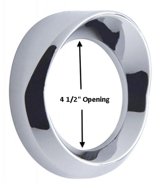 Kenworth Chrome Speedometer Tachometer Gauge Cover With Visor