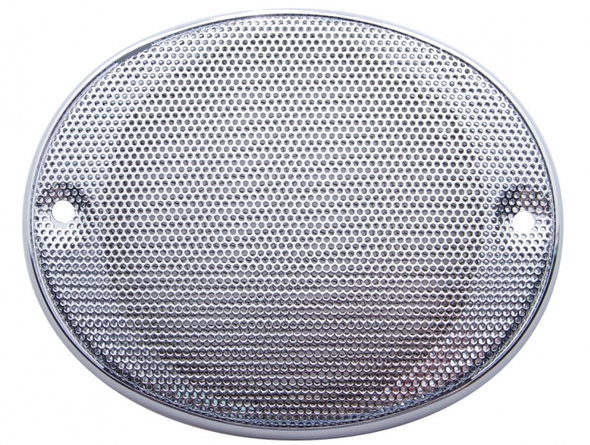 CB Radio Chrome Speaker Cover