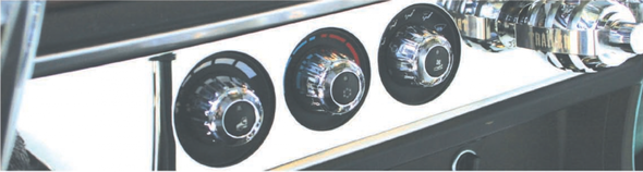 Kenworth 2006+ Chrome AC Control Outer Knob