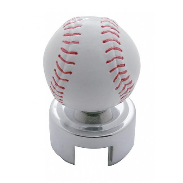 Baseball 13/15/18 Chrome Gearshift Knob