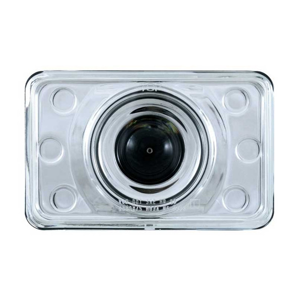 Crystal Projection Low Beam Headlight 165mm Front View