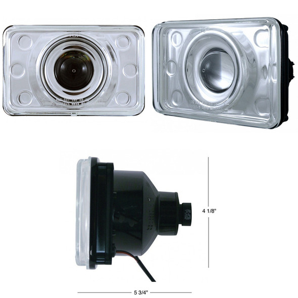 Crystal Projection Low Beam Headlight 165mm