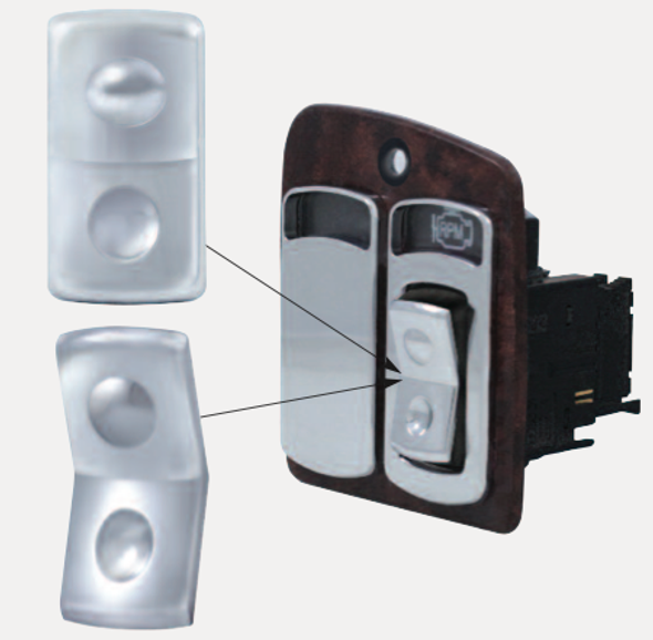 Kenworth Rocker Switch Covers 2 Pack
