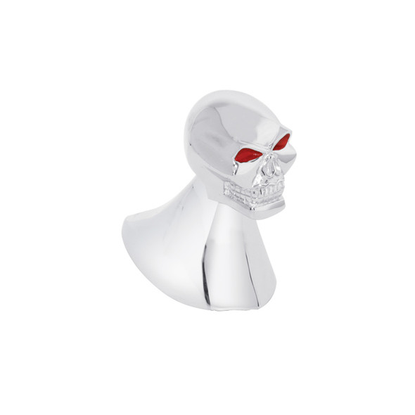 Chrome Skull Hood Ornament
