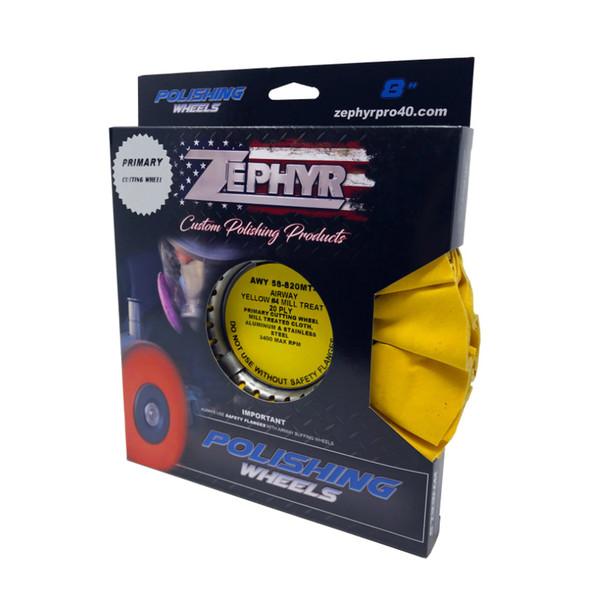 Yellow 20ply Medium Heavy Cutting Airway Buffing Wheel