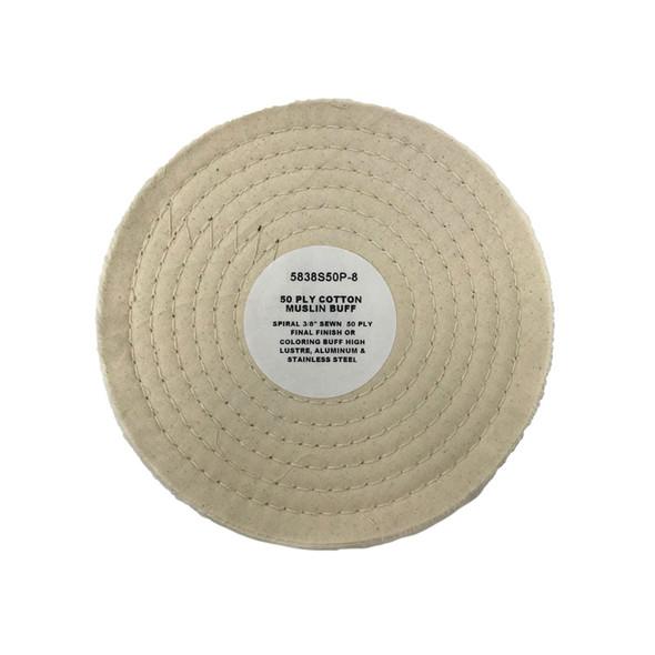 Zephyr Muslin Cotton 50ply Final Finish Buffing Wheel