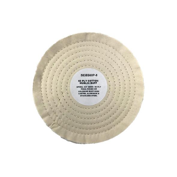 Zephyr Muslin Cotton 60ply Final Finish Buffing Wheel