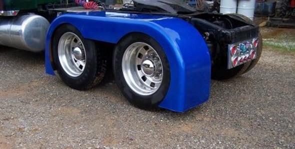 Low Cut Full Rear Fenders Talladega Fiberglass