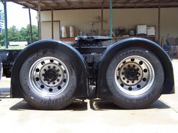 Gangsta Single Hump Rear Fenders Talladega On Truck