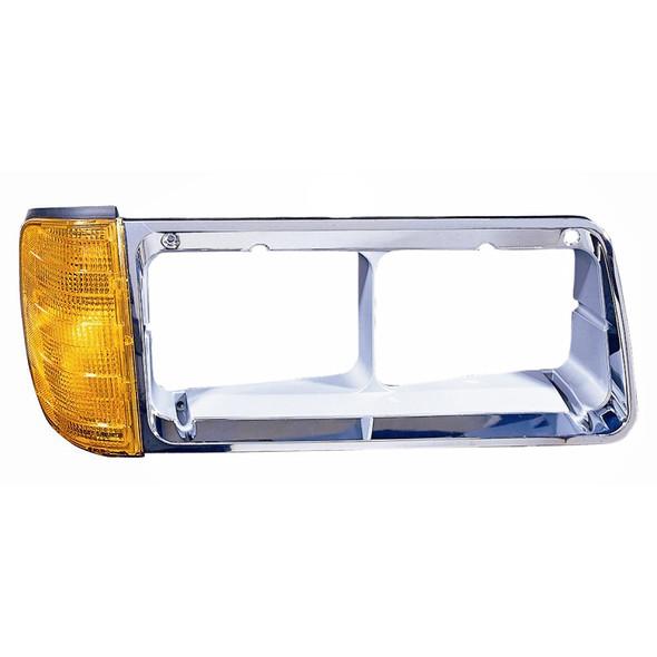 Freightliner FLD Headlight Bezel Driver