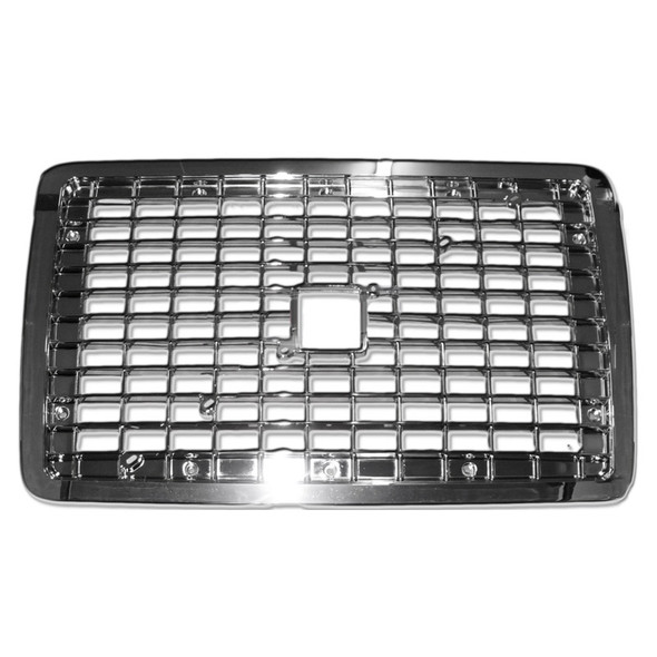 Volvo VN VNL Chrome Grille Replacement 2004 & Newer With Bug Screen