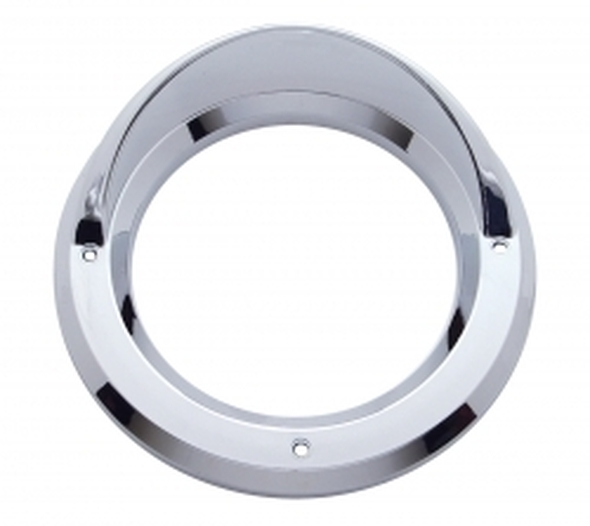 "4"" Round Chrome Bezel"