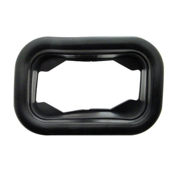 Rectangular Black Rubber Grommets