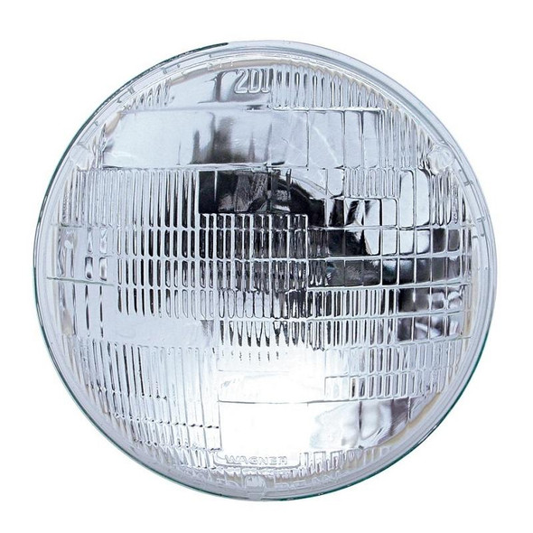 """7"""" Round Sealed Beam Incandescent Headlight With High & Low Beam Function"""