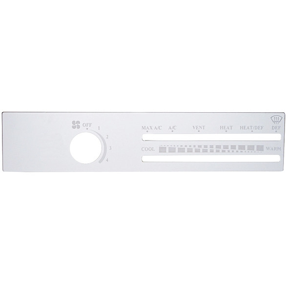 Freightliner Classic FLD AC Control Plate