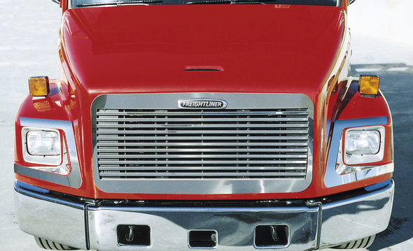 Freightliner FL 60 70 80 106 112 120 Grill Stainless Steel Overlay
