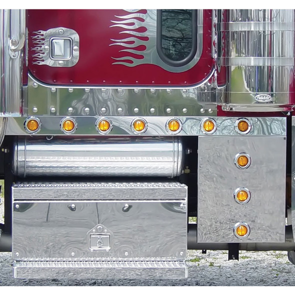 Peterbilt 379 Extended Cab Panels & Optional Cowl Panels With Bullseye LEDs
