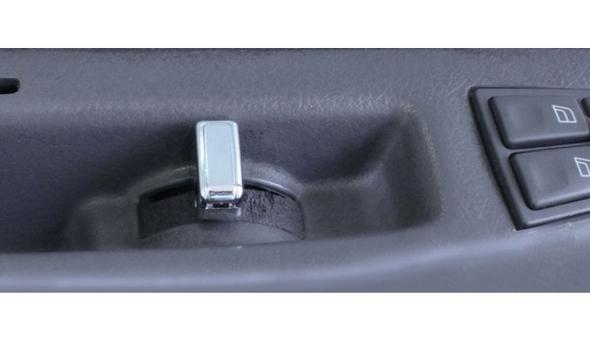 Volvo Chrome Door Handle Knob - In Truck