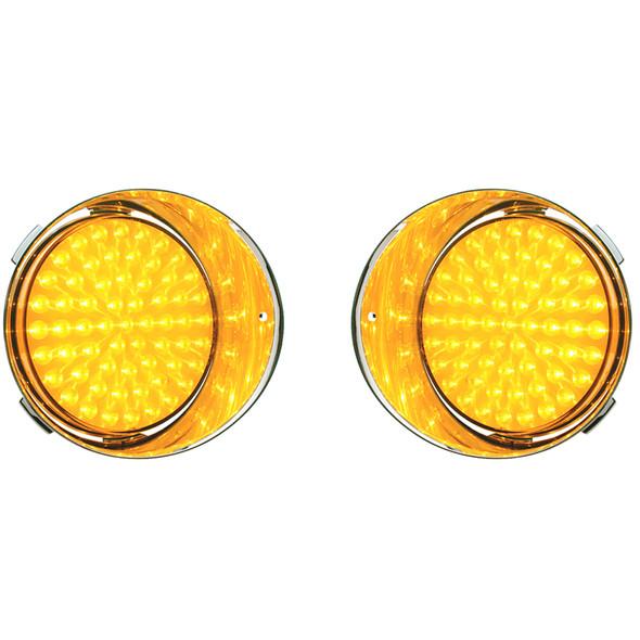 Freightliner Century Daytime Running Light Amber Lens