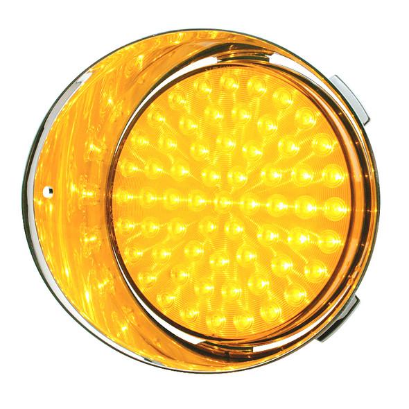 Freightliner Century Daytime Running Light Amber Lens Driver
