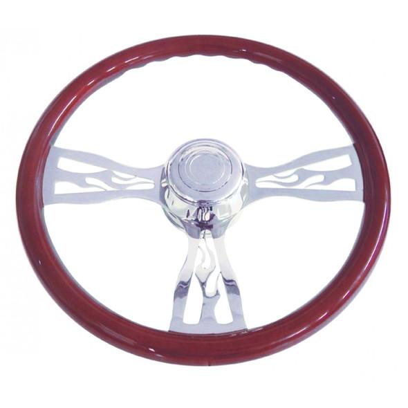 """18"""" Flame Steering Wheel"""