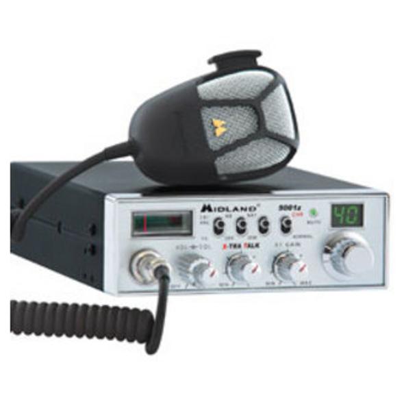 Midland 40 Channel Digital Tuner CB Radio With Backlit Display