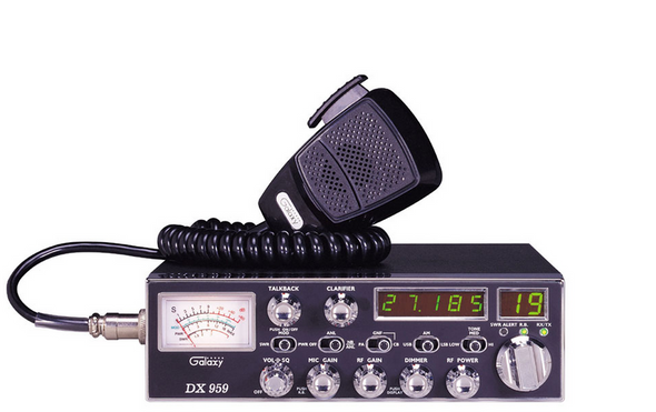 Galaxy 40 Channel 5 Digit Frequency Display CB Radio With Built In SWR Meter