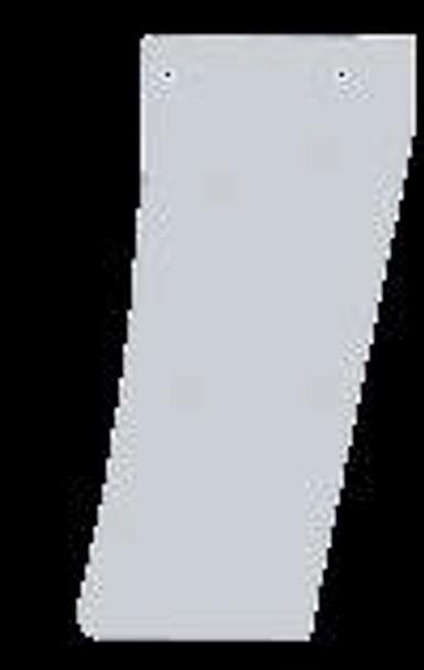 Peterbilt 389 Blank Narrow Cowl Extensions