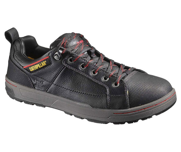 Brode Oxford Steel Toe Trucker CAT Work Shoes