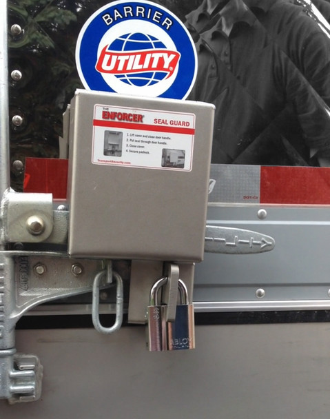 The Enforcer Seal Guard Lock Stainless Steel