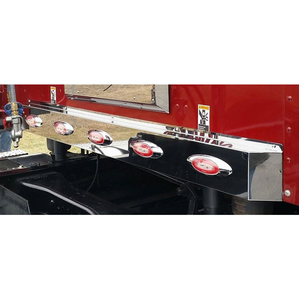 Kenworth T680 & T880 Sleeper Shock Cover Angle View