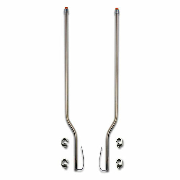 Mack CH Series Stainless Steel LED Bumper Guide
