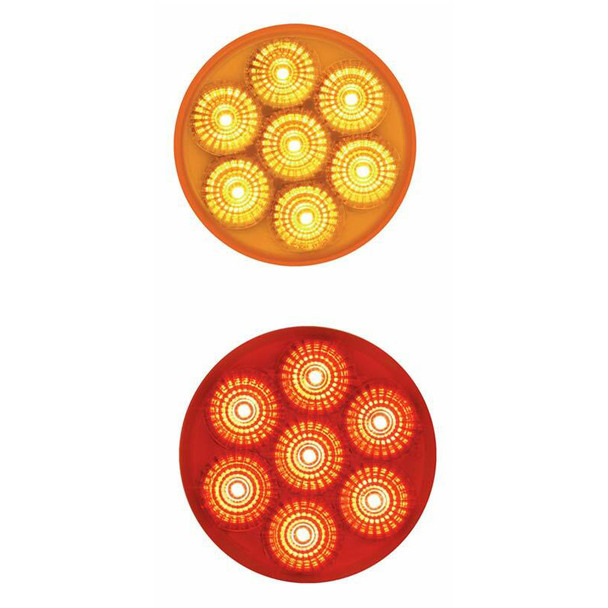 """Spyder 2"""" Round Dual Function LED Clearance Marker Light"""