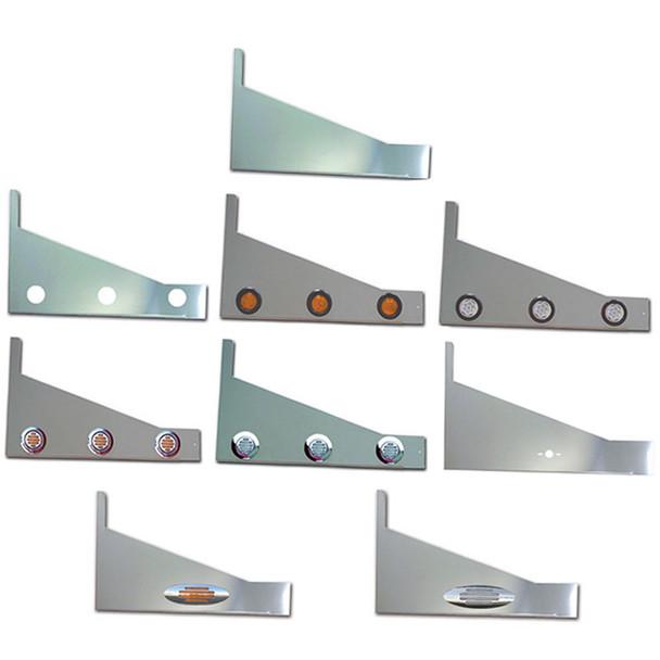 Peterbilt 379 Stainless Steel Sleeper Extension Panels