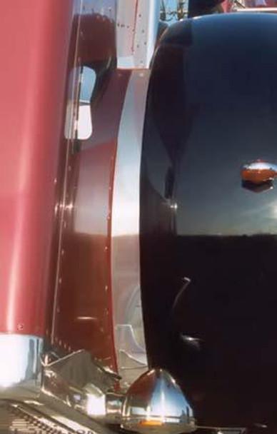 Peterbilt 359 Inner Fender Trims Tape Mount By RoadWorks