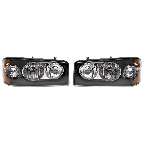 Mack GU4 GU5 GU7 GU8 TD700 Headlight Assembly 25105807 25105806