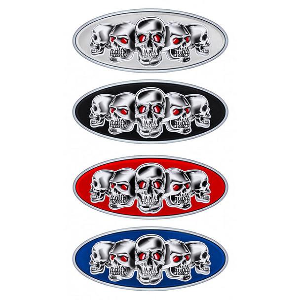 Peterbilt Chrome Skull Emblem