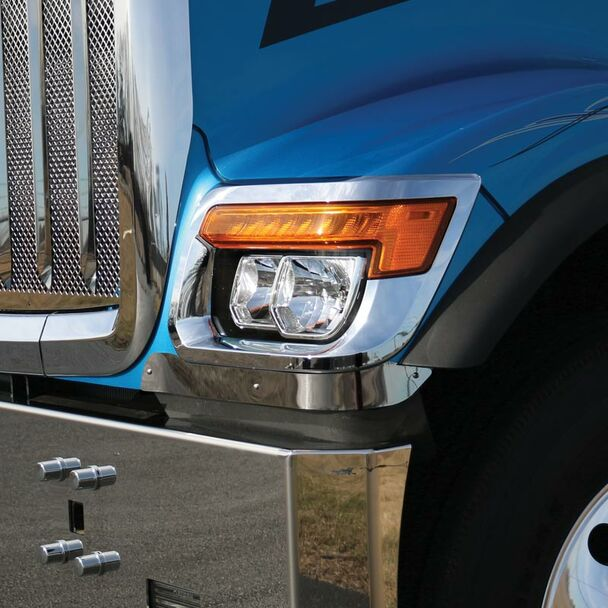 International HX520 Under Headlight Trims