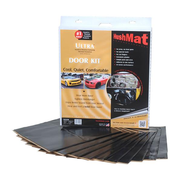 "Hushmat Ultra Stealth Black 12"" x 12"" Door Kit"