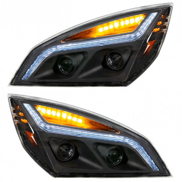 LED Projection Headlights Blackout